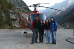 Zermatt, Switzerland - Air Zermatt Helicopter - October 2008