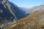 Zermatt, Switzerland - Paragliding - October 2008