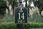 Harbour Town Golf Links Hole 14 Sign