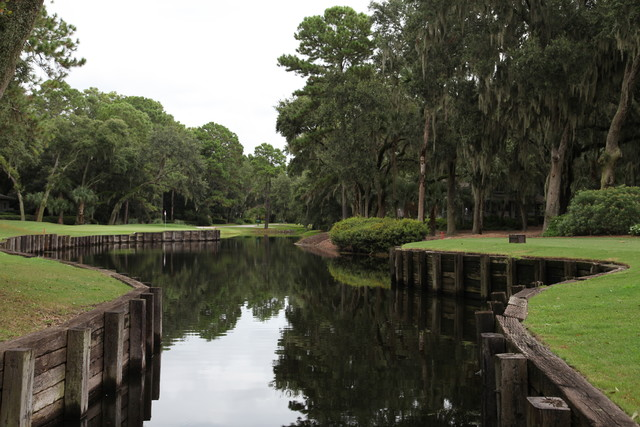 Harbour Town Golf Links Hole 14 Lagoon