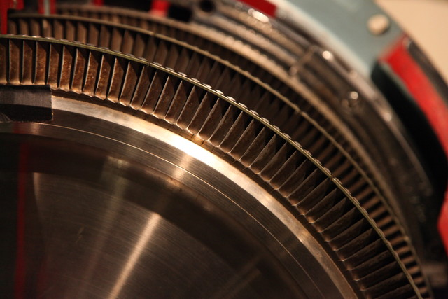 Gears in the Power Machinery exhibit