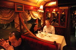 Kristen and Ryan on the Colonial Tramcar Restaurant 1