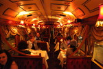 Inside the Colonial Tramcar Restaurant