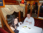 Kristen and Ryan on the Colonial Tramcar Restaurant 2