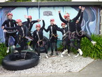 Black Water Rafting in Waitomo - October 2011