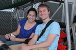 Kristen and Ryan riding the Scenic Railway