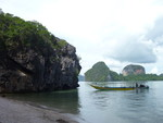 Phuket - Phang Nga, James Bond Island, Koh Panyee - April 2012