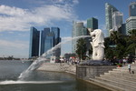 Singapore City Tour, Marina Bay Sands, Long Bar - May 2012